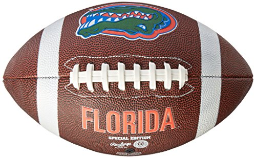 NCAA Game Time Full Size Football , Florida Gators, Brown, Full Size