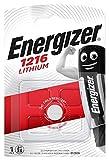 Energizer - Pila de botón CR 1216 Lithium, litio