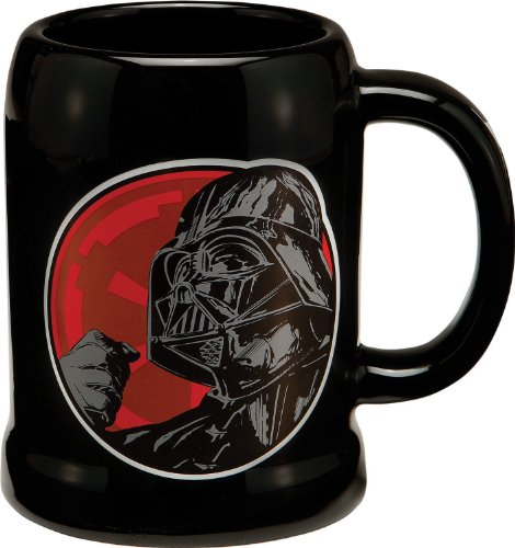 Vandor 99279 Star Wars Darth Vader 20 oz Ceramic Stein,...