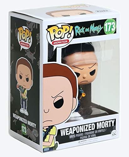 Funko Pop Morty Armado (Rick & Morty 173) Funko Pop Rick & Morty