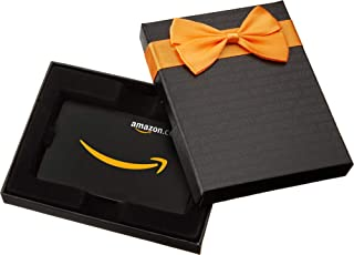 Amazon.com.au Gift Card for Custom Amount in a Black Gift Box