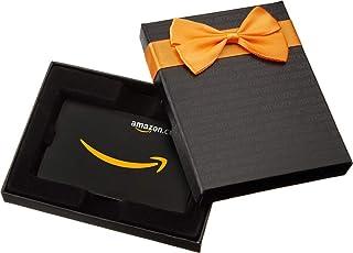 Amazon.com.au Gift Card for Custom Amount in a Black Gift Box