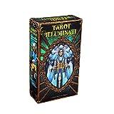 Tarot Illuminati Kit Cartas Deck Card y guía electrónica Tarot Game Toy Tarot