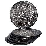 14' Black Round Drum 1/2'