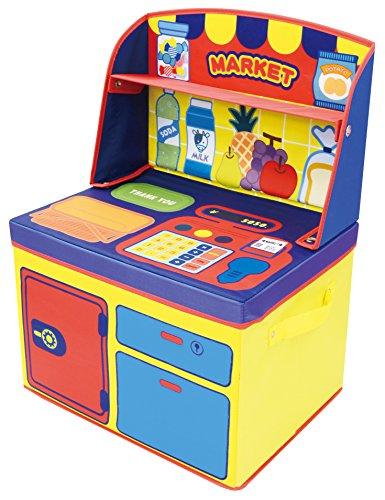 ユーカンパニー U-company ままごと収納ボックス マーケット 遊べて収納できるボックス