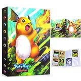 Album Pokemon, Álbum de Cartas Pokémon, Álbum Titular de Tarjetas Pokémon Carpeta Carpeta Libro 30 páginas 240 Tarjetas Capacidad (Raichu)
