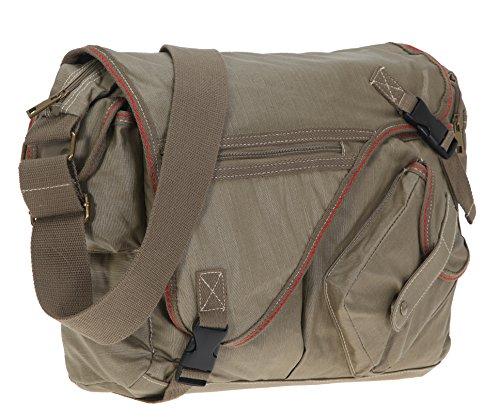ELEPHANT Kuriertasche Sahara Laptoptasche Schultertasche 3692 Oliv
