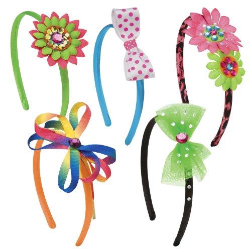 Alex DIY Wear So Many Headbands, 10 Headbands Kids Art and Craft Activity