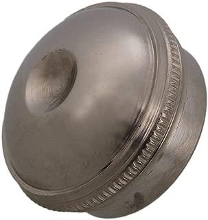 Nickel Plated Brass Silver Head Crown Headjoint Screw Cap Flute Replacement Part