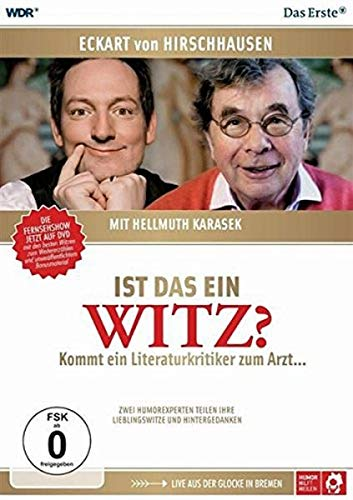 Eckart von Hirschhausen mit Hellmuth Karasek - Ist das ein Witz? [2 DVDs]