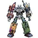 Juguetes de Transformadores, Jinbao De Gran Tamaño 4 3CM Transformers Toys Bruticus Transformación Cool Anime 5 En 1 Figura De Acción Robot Car Depósito Militar Modelo De Tanque De Juguetes Regalos ,R