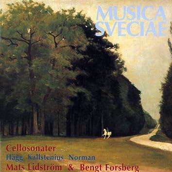 Hägg, Kallstenius, Norman: Cellosonater / Cello Sonatas