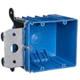 Thomas & Betts #B234ADJ 2 Gang Adjustable Box (Pack of 16) by Thomas & Betts