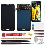 YHX-OU Pantalla táctil LCD de repuesto para Samsung Galaxy J3 2016 J320A J320FN J320 con herramientas completas (negro)