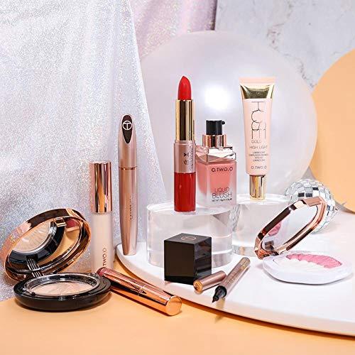 niyin204 10PCS Palette Maquillage Yeux Coffret Maquillage Femme Ensemble De Maquillage Cosmétiques À La Mode Et Colorés Kit De Voyage pour Présenter des Femmes De Noël
