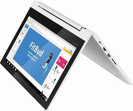 "2019 New Lenovo C330 11.6"" 2-in-1 HD Premium IPS Touchscreen Chromebook, MediaTek Quad-core M8173C 2.1 GHz, 4GB RAM, 32GB eMMC Flash Memory, Bluetooth, Webcam, HDMI, USB 3.0, Chrome OS (Convertible)"