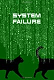 SYSTEM FAILURE: Curious notebook to write or draw inspired by the film The Matrix. |...