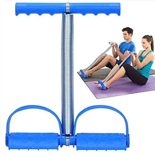 Save %35 Now! Foot Pedal Exerciser Tummy Trimmer Stair Stepper for Women and Man,Elastic Sit Up Pull...