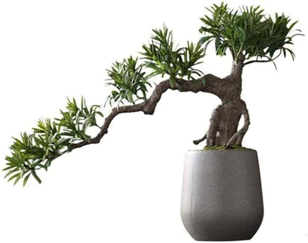 Statues New Chinese-Style New color Welcoming Pine Micro- Cedar High quality Artificial