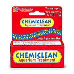 Chemiclean effectively removes stains from red, black, blue-green, and methane (bubble) producing cyanobacteria in marine aquariums, oxidizes trapped organic sludge and sediment, and clarifies aquarium water while promoting an ideal enzyme balance.