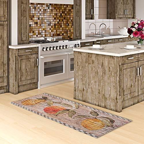 Pergamon Küchenläufer Küchenteppich Trendy Vintage Kitchen Beige in 2 Größen