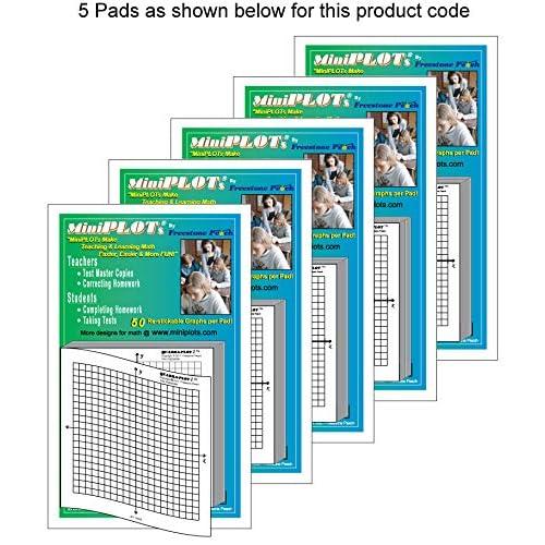 graph paper 5 squares per inch  amazon com