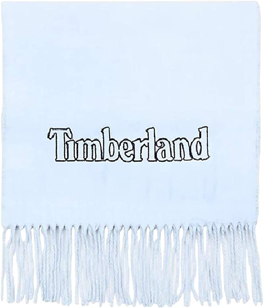 Timberland Mens Winter Scarf (One Size) (Light Blue)