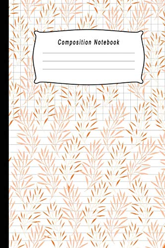 Composition Notebook: Half College Ruled / Half Graph 4x4 mixed paper styles on one sheet to get creative: Coordinate, grid, squared, math paper, for ... notes, draw sketches, Diary Journal Organizer