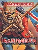 Iron Maiden Photo Book: Beautiful Simple Designs Iron Maiden Adult Unique Photo Book Books For Men And Women