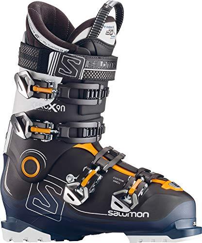 Salomon Herren Ski-Stiefel X Pro X90 CS Skistiefel, Schwarz/Blau/Weiss, 27
