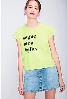 Camiseta Neon Segue Meu Baile Feminina