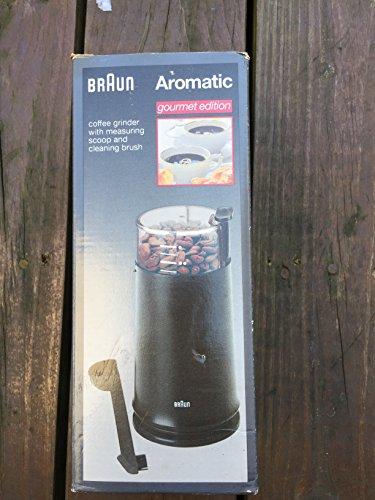 Braun Ksm4-b Aromatic Coffee Grinder, Black