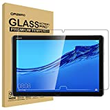 (2 Pack) Orzero Tempered Glass Screen Protector Compatible for Huawei MediaPad M5 Lite 10.1 inch,9 Hardness HD High-Definition Anti-Scratch Bubble-Free (2.5D Arc Edges) (Lifetime Replacement)
