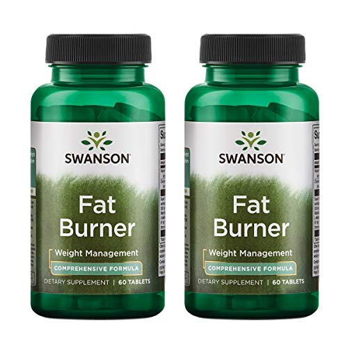 Swanson Fat Burner 60 Tabs (2 Pack)