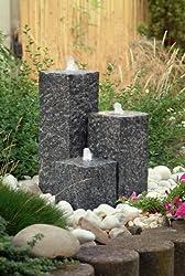 steinbrunnen aus granit mit led beleuchtung vorstellung. Black Bedroom Furniture Sets. Home Design Ideas