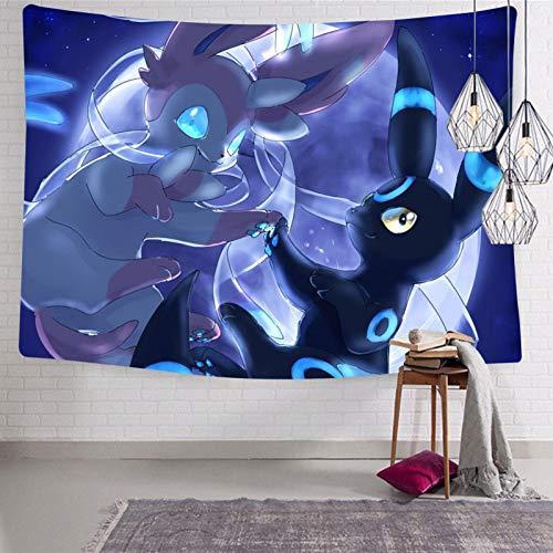 835 Um-bre-on Syl-veon - Manta suave para colgar en la pared para sala de estar, decoración de dormitorio, 127 x 127 cm
