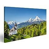 Bild Bilder auf Leinwand Schöne Berglandschaft in den
