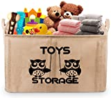 Gimars 22' Upgrade Well Standing Toy Chest Baskets Storage Bins for...