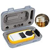 Taidda Hidrómetro de Cerveza Hidrómetro Digital Refractómetro de Cerveza Medidor de concentración de Cerveza & nbsp, Hidrómetro Digital de Cerveza medidor de concentración de Cerve