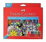 Faber Castell - Lápices de colores, 60 colores