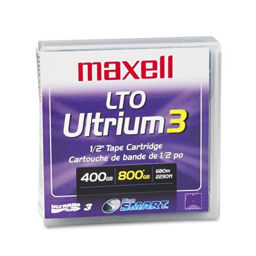 MAX183900 - Maxell 1/2amp;quot; Ultrium LTO-3 Cartridge