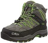 CMP Unisex-Kinder Rigel Mid Trekking-& Wanderstiefel, Grau (Tortora-Edera 16pc), 31 EU