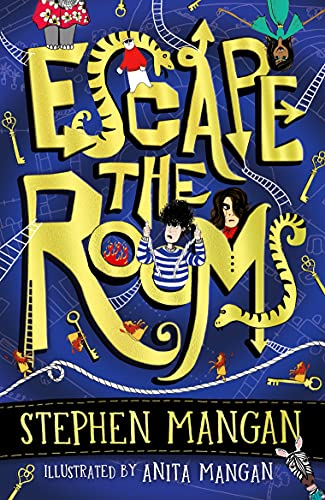Escape the Rooms (the laugh-out-loud funny and mind-blowingly brilliant new book for kids!) (English Edition)