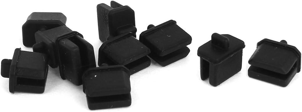 Mesa Mall uxcell Cap Protector 10 Pcs for OFFer Mini Displayport Black Thunderbo