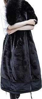 Women's Hooded Zipper Warm Winter Coats Long Sleeve Knee Length Overcoats Outwear Tops