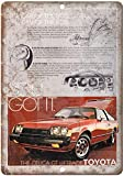 Toyota Celica Vintage Blechschilder Retro Metall Poster