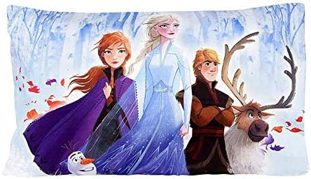New Disney Frozen II Pillowcase for Kids 20 X 30 Inch 1 Piece Pillow Case Only product image