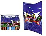 Sonic Freegun - Calzoncillos para hombre multicolor M