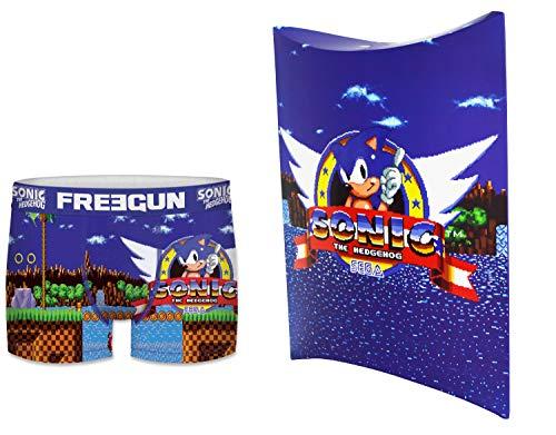 Sonic Freegun - Calzoncillos para hombre