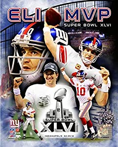 "Eli Manning New York Giants MVP Composite Photo (Size: 8"" x 10"")"